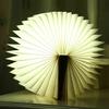 LAMPE LED LIVRE BOIS