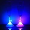 6 COUPES À CHAMPAGNES LED