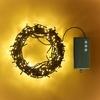 GUIRLANDE LED 200 LEDS BLANC CHAUD