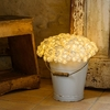 BOUQUET DE 192 ROSES BLANCHES LUMINEUSES BLANC CHAUD