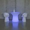 TABLE BASSE LUMINEUSE LED AVEC FIL CAPRI 75