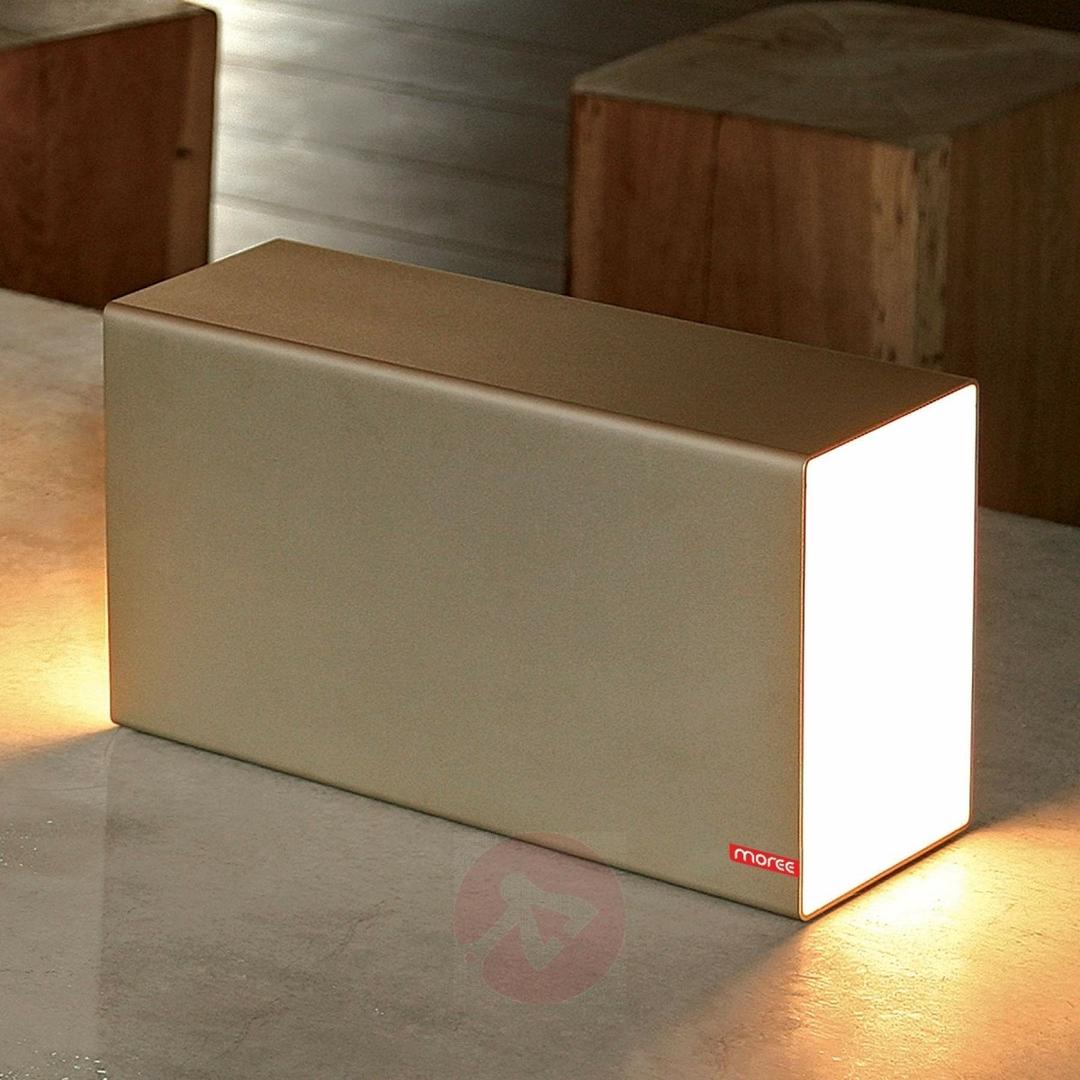 lampe led rvb design a poser eraser gold 260 vendu sur deco-lumineuse.fr