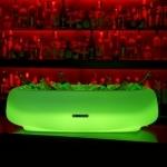 seau-champagne-lumineux led vert 14 bouteilles vendu sur www.deco-lumineuse.fr