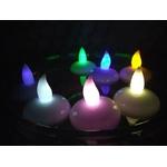 bougie-led-flottante-couleurs vendues sur www.deco-lumineuse.fr