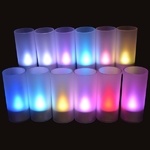 bougies-led-rvb-rechargeables-plateau-de-12 vendu sur www.deco-lumineuse