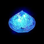 lampion led diamant bleu vendu sur www.deco-lumineuse.fr