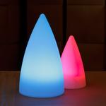 centre-de-table-lumineux-led-exocet-bleu vendu sur www.deco-lumineuse.fr