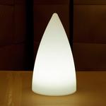 centre-de-table-lumineux-led-exocet-blanc vendu sur www.deco-lumineuse.fr