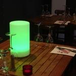 centre-de-table-lumineux-led-lolita vert vendu sur www.deco-lumineuse.fr