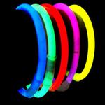 bracelets-fluo-bleu vendus sur www.deco-lumineuse.fr