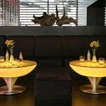 table lumineuse led  jaune vendue sur www.deco-lumineuse.fr
