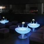 table lumineuse led  bleu vendue sur www.deco-lumineuse.fr