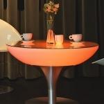 table lumineuse led or vendue sur www.deco-lumineuse.fr