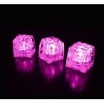 glaçons lumineux led rose vendus sur www.deco-lumineuse.fr