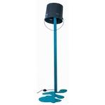 lampadaire led design grisbleu OUPS!