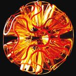 lampe-led-coral-orange-vendue-sur-www.deco-lumineuse.fr