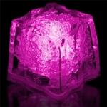 glaçons lumineux rose vendus sur www.deco-lumineuse.fr