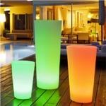 pot led sans fil exterieur TOLOSA vendu sur www.deco-lumineuse.fr