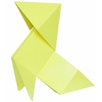 lampe à led PHILOMENE jaune citrine