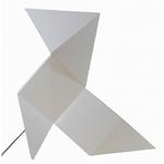 lampe led FANETTE blanc vendue sur www.deco-lumineuse.fr