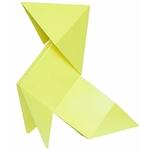 lampe led FANETTE jaune vendue sur www.deco-lumineuse.fr