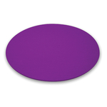 coussin violet bubble