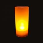plateau-12-bougies-led-jaunes-rechargeable