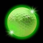 balle-de-golf-lumineuse verte