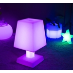 lampe led sans fil aba xl mauve