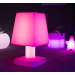 lampe led sans fil aba xl rose