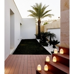 centre de table lumineux led moderne romee