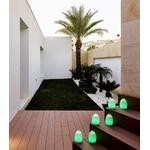 centre de table led design vert romee