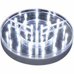 base-lumineuse-silver-led-blanches-o-20-cm