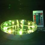 maxi rvb base-lumineuse-silver-led-rvb-o-20-cm