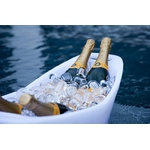 seau a champagne lumineux design vasque