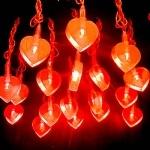 guirlande lumineuse led,coeur vendue sur www.deco-lumineuse.fr