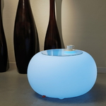 pouf led rvb sans fil exterieur bubble vendue sur deco-lumineuse.fr