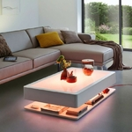 table basse led rvb design lumineuse ora home vendue sur deco-lumineuse.fr