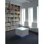 cube led rvb interieur design sans fil ora led white vendu sur deco-lumineuse.fr
