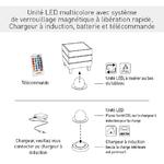 instructions chargement base led beach