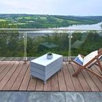 table basse led exterieur beach grise vendue sur deco-lumineuse.fr