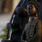 fontaine led zen interieur bouddha harmonie vendue sur deco-lumineuse.fr