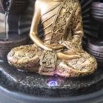 fontaine led interieur bouddha chakra xxl vendue sur deco-lumineuse.fr