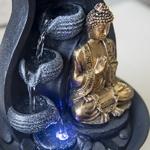 fontaine led decorative interieur bouddha praya vendue sur deco-lumineuse.fr