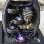 fontaine led zen interieur bouddha essan vendue sur deco-lumineuse.fr