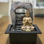 fontaine zen interieur bouddha dao vendue sur deco-lumineuse.fr