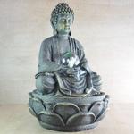 fontaine interieur bouddha meditation vendue sur deco-lumineuse.fr