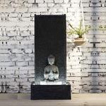 fontaine led intérieur bouddha XL MUR vendue sur deco-lumineuse.fr
