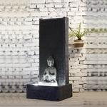 fontaines led bouddha XL MUR vendue sur deco-lumineuse.fr