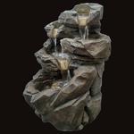 fontaine led exterieure xxl grande niagara